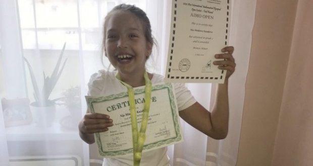 Голям успех! Ния от Стара Загора е шампион на Азия по математика