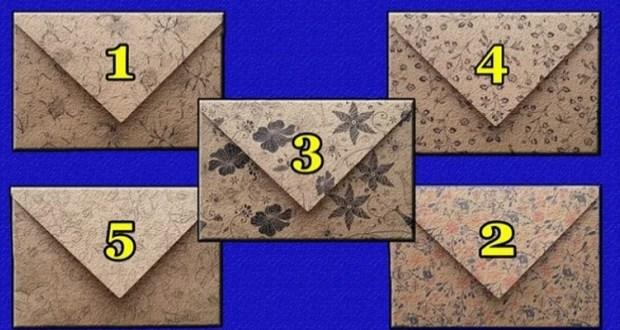 Писмо до вас-Изберете плик и разберете посланието на съдбата какво ви чака в бъдеще
