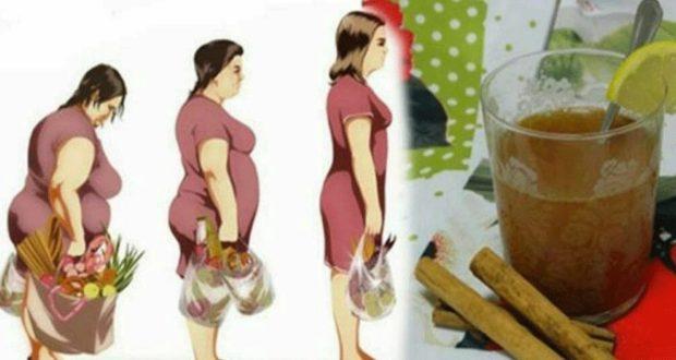 Напитка с канела и лимон гори по 500 гр. от излишното ви тегло