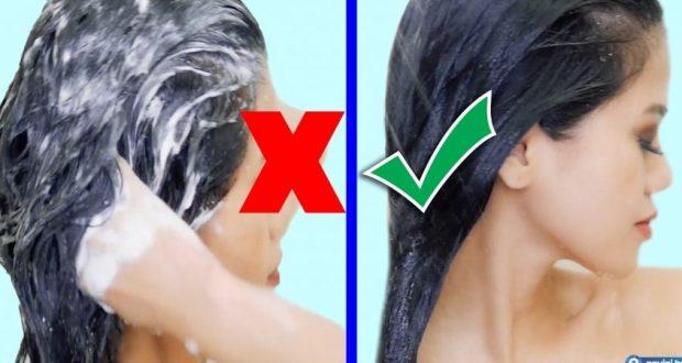 1. Пълен мит е, че косата се мие по график. Мийте косата си, когато усетите, че имате нужда. Може да го правите всеки ден през лятото или пък по два пъти в седмицата през зимата. Всеки тип коса има различни нужди. 2. Ползването на шампоан при всяко миене не е задължително. Всъщност, ако пропускате от време на време, ще предотвратите изсушаването на скалпа. 3. Грешка е да натискате силно, докато миете косата си и втривате шампоана. Пробвайте с нежни и масажиращи движения. Това е много по-щадящо за косата. 4. Горещите душове действат много разтоварващо на тялото, но не са толкова полезни за косата. Тя има нужда от топла и дори само хладка вода. Горещата вода изсушава кожата. 5. Ако обичате да експериментирате с шампоаните и балсамите, знайте, че това действа стресиращо на косата ви. Битува мит, че трябва често да ги сменяте често, но това не е съвсем вярно. Когато попаднете на добър шампоан – използвайте него, предава kanal3.bg. 6 Изливането на големи количества шампоан – това е грешка – може би обичате как ухае и как омекотява косъма, но не прекалявайте. 7. Грешка: Държите мократа си коса, увита в кърпа, вместо само да я избършете и да я махнете от главата си. Косата ви е много деликатна част от вас, по-добре й давайте повече свобода и не я тормозете като я увивате в хавлии или я връзвате, докато е мокра – тогава е най-уязвима. 8. Четката е враг на мократа коса. Втривайте шампоана нежно и не се решете, когато косата ви е мокра, за да бъде косата ви здрава. 9. Грешка е да започвате нанасянето на шампоана всеки път от корените на косата надолу. Пробвайте да го правите от тила нагоре от време на време. 10. Грешка: Шампоан върху суха коса – това е противопоказно. Уверете се, че косата ви е напълно мокра преди да си сложите шампоан! 11. Нанасяш шампоан на цялата глава – няма смисъл – слагайте шампоан в корените и балсам само в краищата. Така ще има баланс и по-голяма полза от продуктите, които ползвате.
