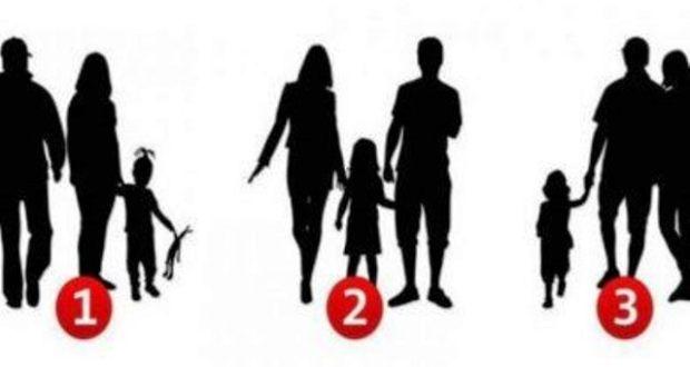 Много точно! Кажи ми кое е фалшивото семейство на снимката и виж какво разкрива това за теб!