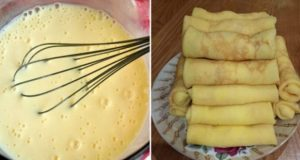 Идеалните палачинки: стават за солен стават и за сладък пълнеж!