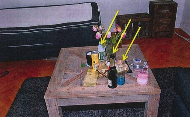 Doctor takes woman hostage in Fritzl bunker....Traces of flunitrazepan found the empty bottle of champagne. Pictures Swedish Police Handout