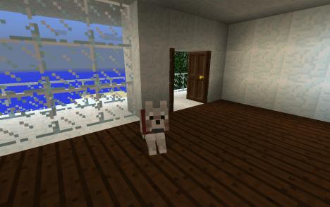 Czym było by biuro bez Minecraftowego pieska?