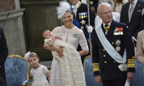 Estelle, Oscar, Wiktoria król Karol XVI Gustaw