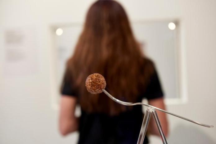 Klopsiki na wystawie w muzeum Ikei