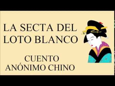 ASecta loto blanco