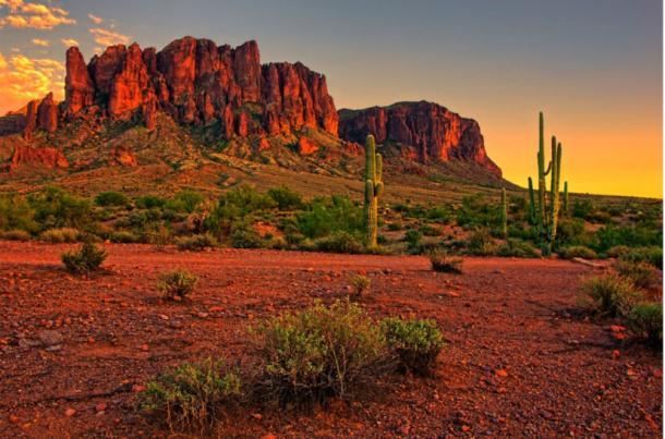 Sonoran-Desert,-Arizona
