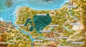 mapa macondo