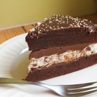Šokoladinis tortas su Amaretu