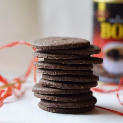 Šokoladiniai kavos sausainiai