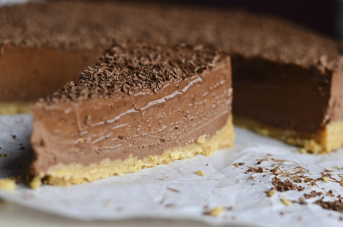 sokoladinis maskarpones nekeptas pyragas skanios dienos (4)