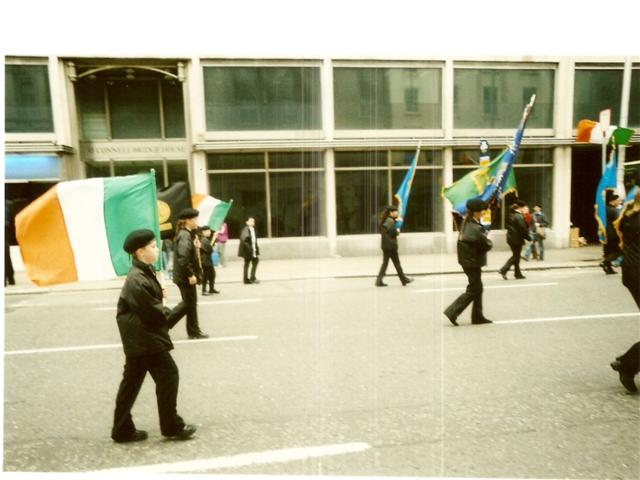 Sfilata dello Sinn Féin a Dublino, autunno 2005
