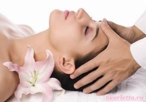 массаж головы 1