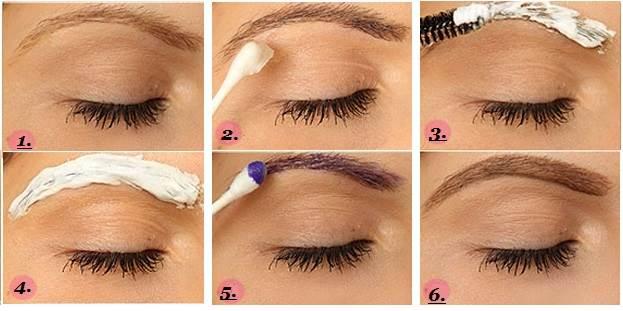 Как-красить-брови-краской-Описание-процедуры-окраски-бровей-8