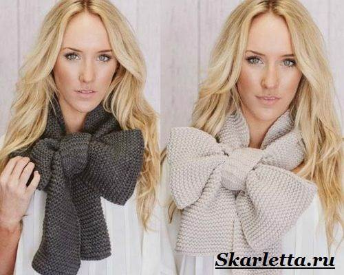 Как-завязать-шарф-на-шее-Способы-завязать-шарф-схемы-и-фото-30