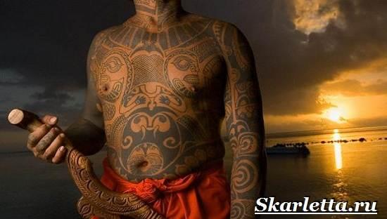 Тату-маори-Значение-тату-маори-Эскизы-и-фото-тату-маори-2
