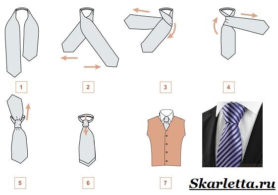 Как-завязать-галстук-Фото-схемы-и-способы-завязывания-галстука