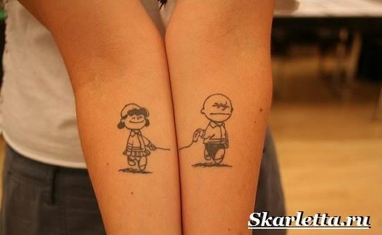 Парные-тату-и-их-значение-Эскизы-и-фото-парных-тату-3
