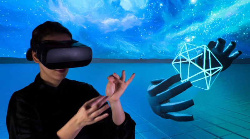 Leap motion mobile VR
