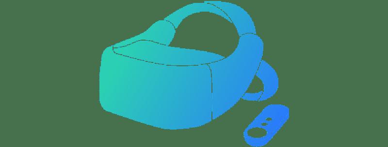 Vive Daydream standalone virtual reality headset