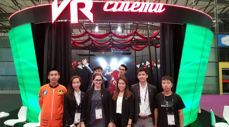 Yue Cheng Media VR Cinema Beijing