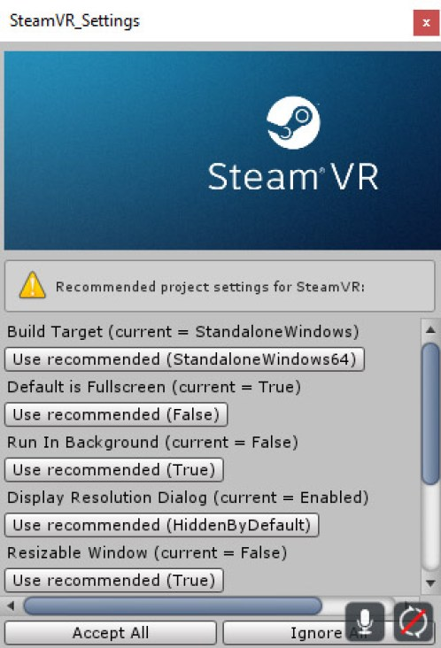 SteamVR Unity plugin hands on
