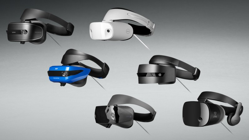 SteamVR Microsoft Mixed Reality headsets support