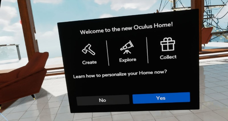 oculus home dash core 2.0 review vr