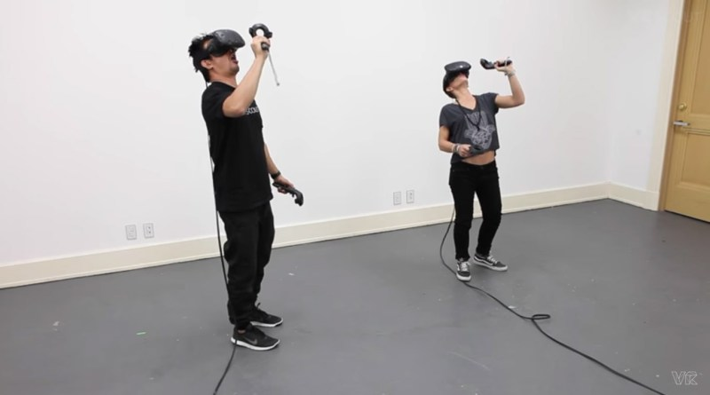 multiple htc vive installation same room vr