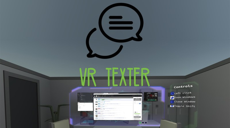 vr texter innovative typing method oculus review