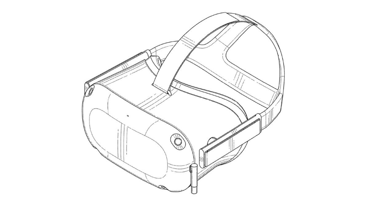 Analyzing Oculus Santa Cruz patent images