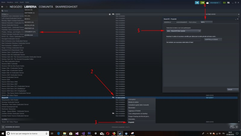 How to fix Vive controllers not working inside SteamVR games