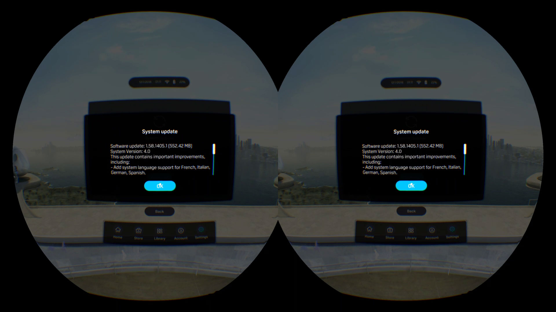 How to update your Oculus Go and Vive Focus - The Ghost Howls