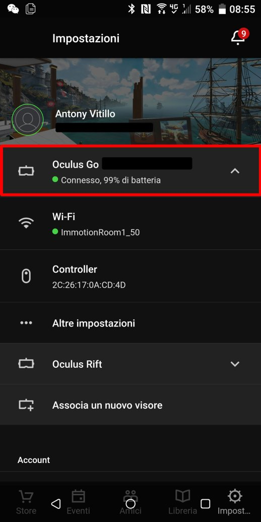 how to oculus go casting streaming pc phone