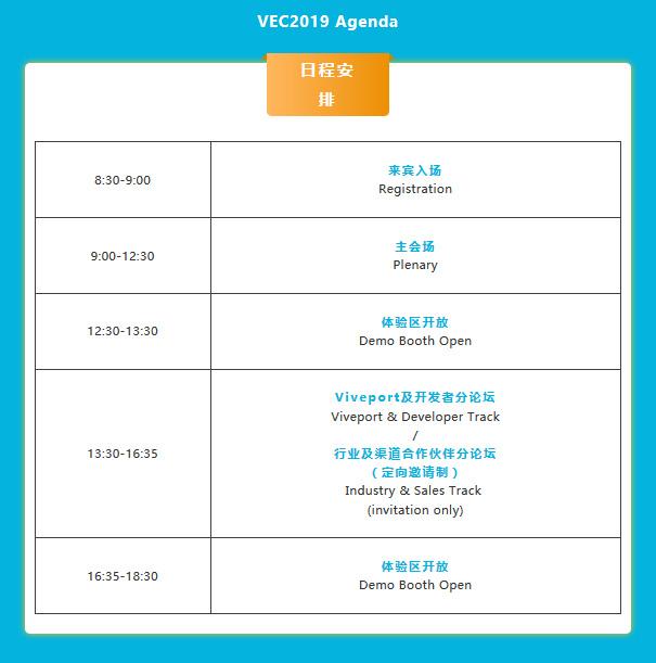 Viveport Ecosystem Conference: info on program and registration