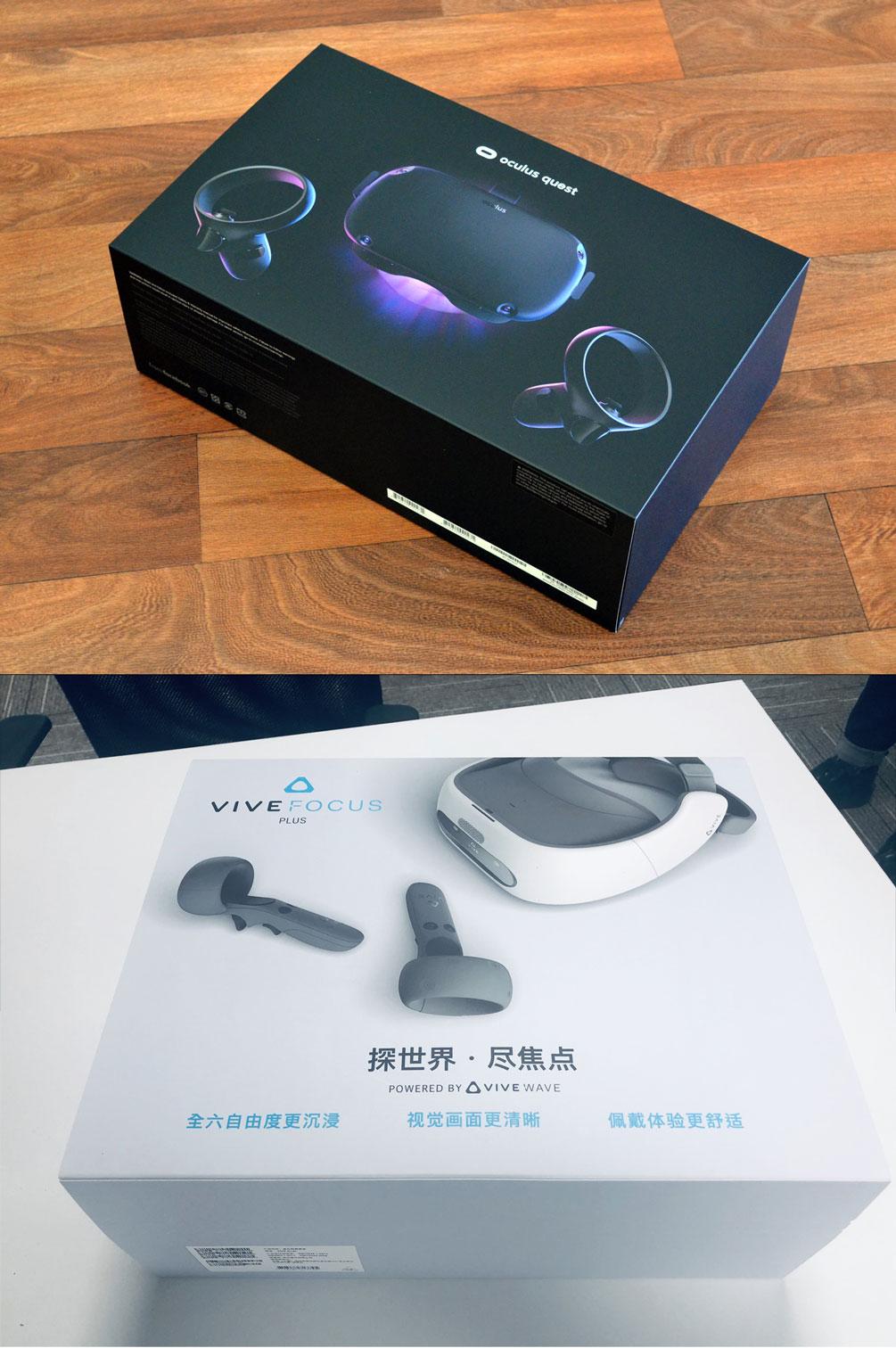 Oculus Quest vs HTC Vive Focus Plus