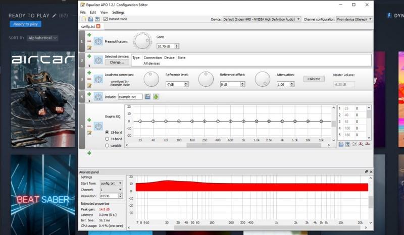 Equalizer APO valve index