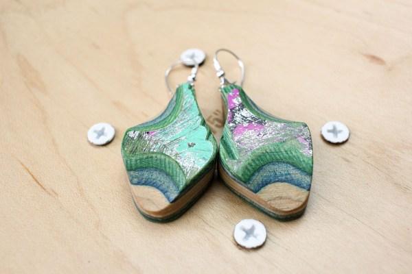 earrings special edition skatan llc4