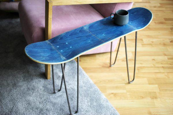 Skateboard Bench Blue
