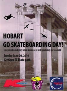 Hobart and Launcestion Go Skateboarding Day 2010