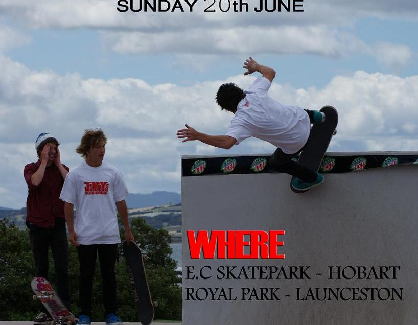Go Skateboarding Day Hobart and Launceston 2010
