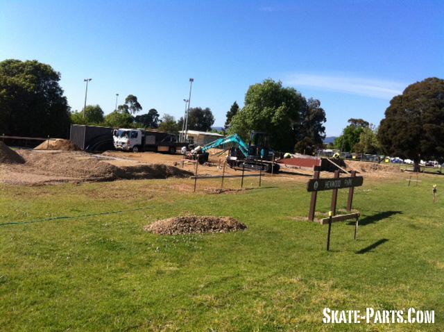 A Closer View – Henwood Skate Park Construction