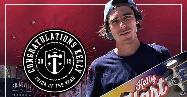 The 2015 Trick of the Year winner is    | TransWorld