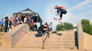 Kyle walker fakie 3 flip