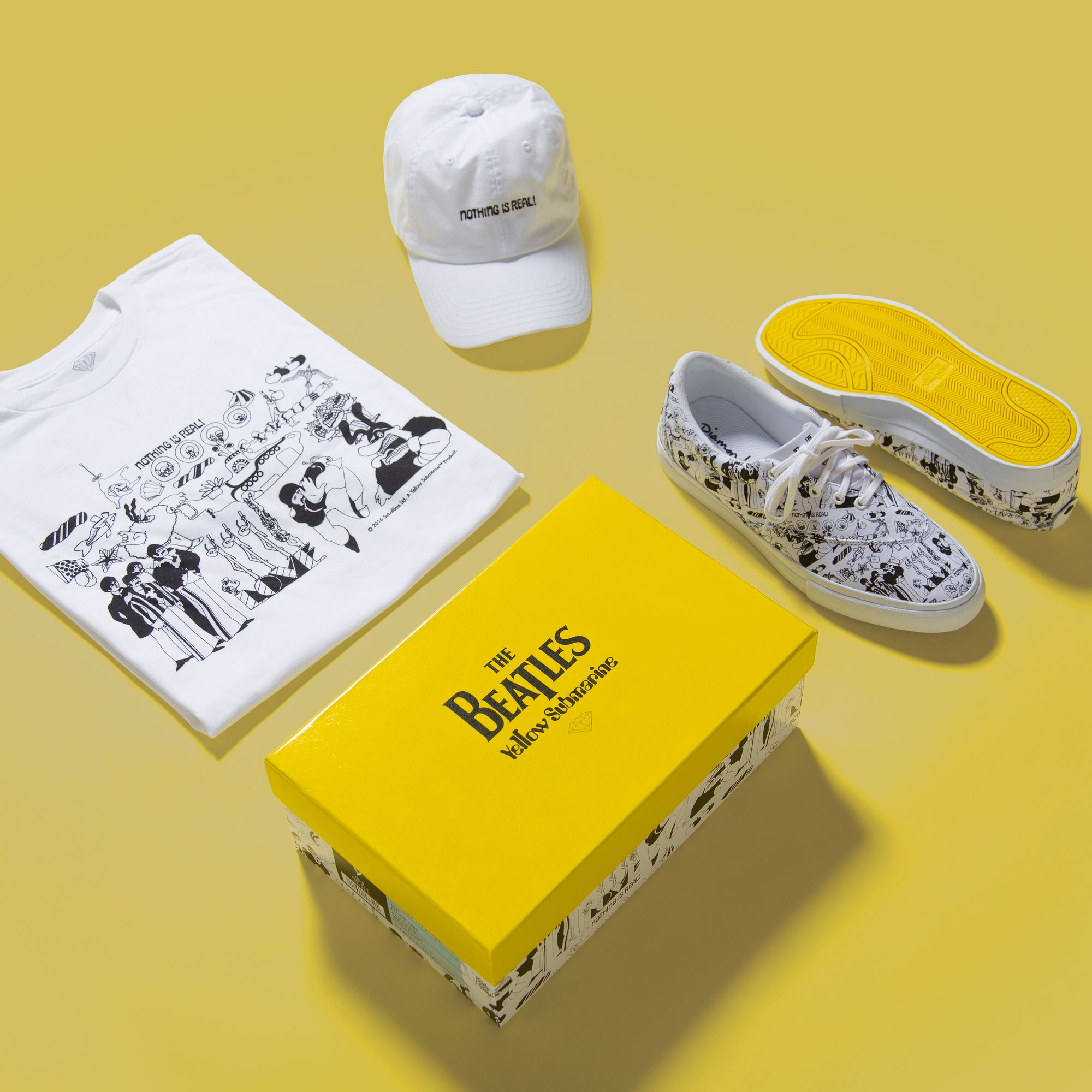 918c561505b Diamond Supply Co. Capsule Collection with The Beatles | TransWorld  SKATEboarding