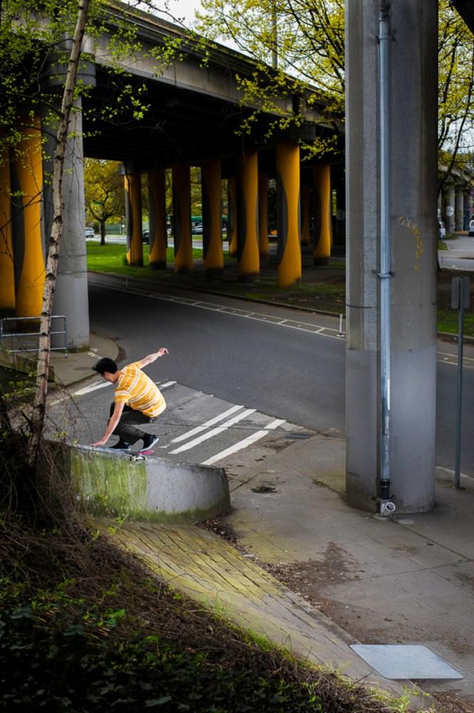 Dane Ichimura Slappy layback fs board