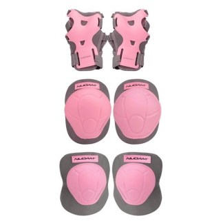 Roze Beschermset voor rolschaatsers