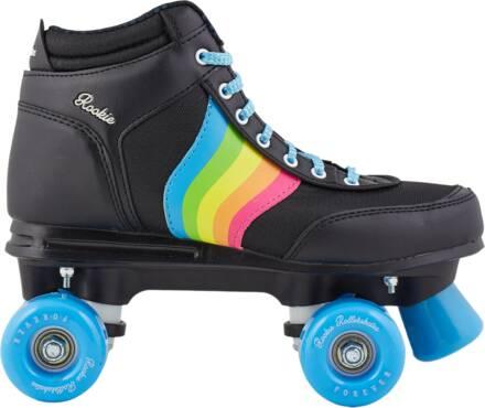 rookie forever rainbow rolschaats zwart