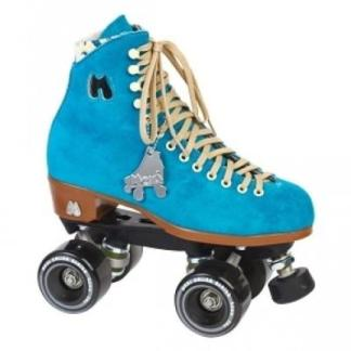 Moxi blauwe dames rolschaatsen